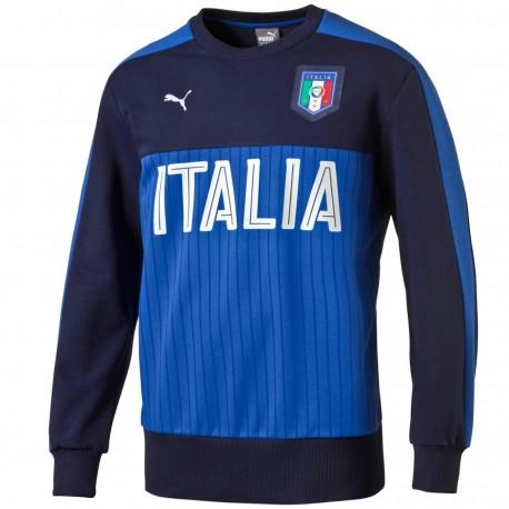 release date: 3e8f9 eaa43 Felpa da rappresentanza cotone Fan nazionale Italia 2016/17 ...