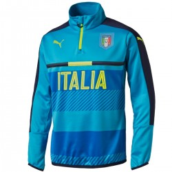 Italy technical training sweat top 2016/17 light blue - Puma