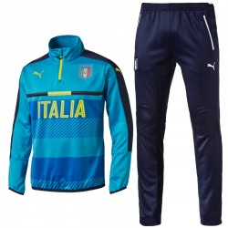Italy technical training tracksuit 2016/17 light blue - Puma