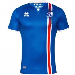 Camiseta de futbol seleccion Islandia primera 2016/17 - Errea