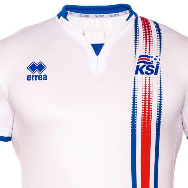 Camiseta de futbol seleccion Islandia segunda 2016/17 - Errea - SportingPlus.net