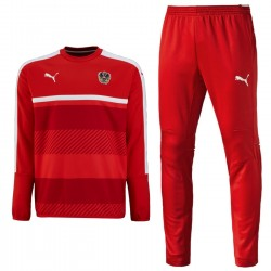Austria national team training suit 2016 red - Puma