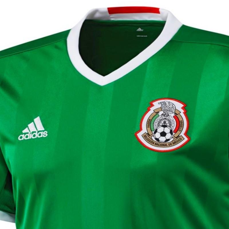f5914ed52ccdb ... Camiseta de futbol seleccion Mexico primera 2016 17 - Adidas ...