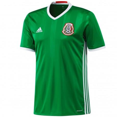 Camiseta de futbol seleccion Mexico primera 2016/17 - Adidas