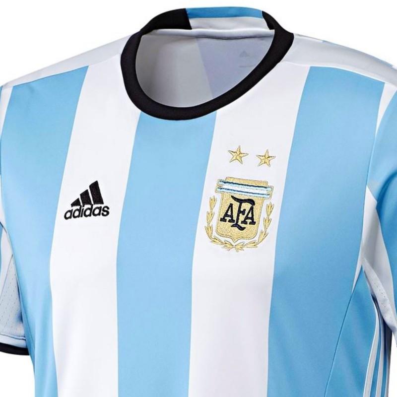 online store bd784 890fc Argentina national team Home football shirt 2016/17 - Adidas ...