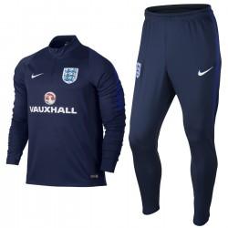 Chandal tecnico entreno seleccion Inglaterra 2016/17 azul - Nike