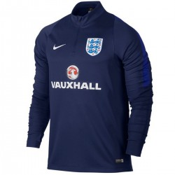 Tech sweat top d'entrainement Angleterre 2016/17 bleu - Nike