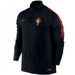 Sudadera tecnica entreno seleccion Portugal 2016/17 negra - Nike