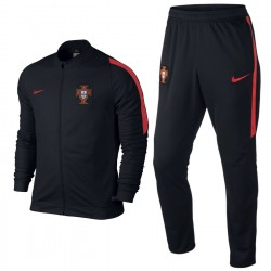 Portugal football team presentation tracksuit 2016/17 black - Nike