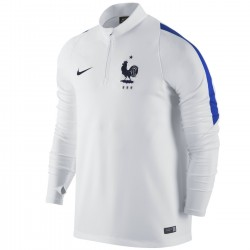 Tech sweat top d'entrainement France 2016/17 blanc - Nike