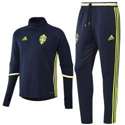 Sweden training technical tracksuit Euro 2016 - Adidas