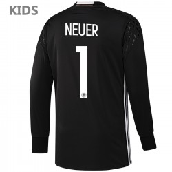 KIDS - Germany Neuer 1 goalkeeper shirt Home 2016/17 - Adidas