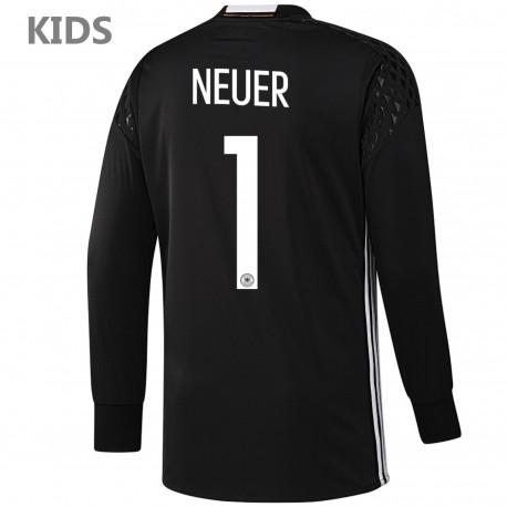 a38cf4e47 KIDS - Germany Neuer 1 goalkeeper shirt Home 2016 17 - Adidas ...