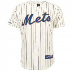 New York Mets MLB camiseta de béisbol Home - Majestic