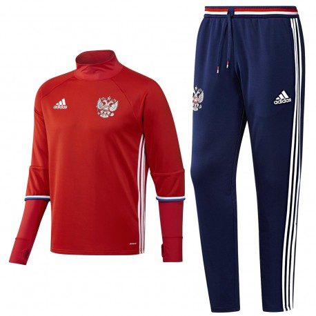 Russland Fußball Tech Trainingsanzug Euro 2016 Adidas