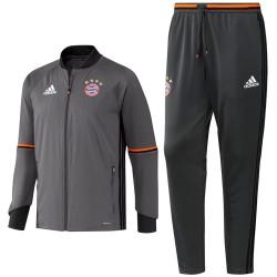 Bayern Munich grey training tracksuit 2016/17 - Adidas
