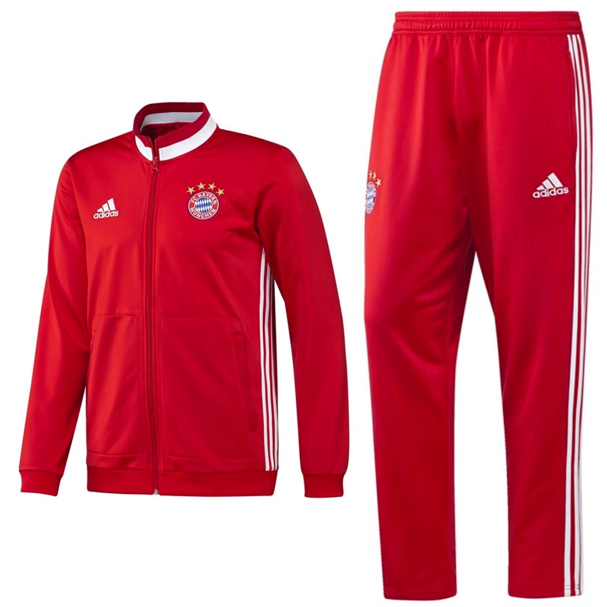 Obbedienza disinfettante Bourgeon  Tuta da allenamento rossa Bayern Monaco 2016/17 - Adidas - SportingPlus.net