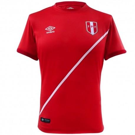 Peru national team Away football shirt 2016 - Umbro