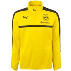 Felpa tecnica allenamento gialla Borussia Dortmund 2016/17 - Puma
