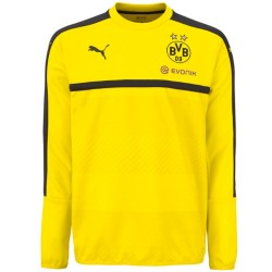 Borussia Dortmund training sweatshirt 2016/17 yellow - Puma