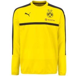 Sudadera de entreno amarilla Borussia Dortmund 2016/17 - Puma