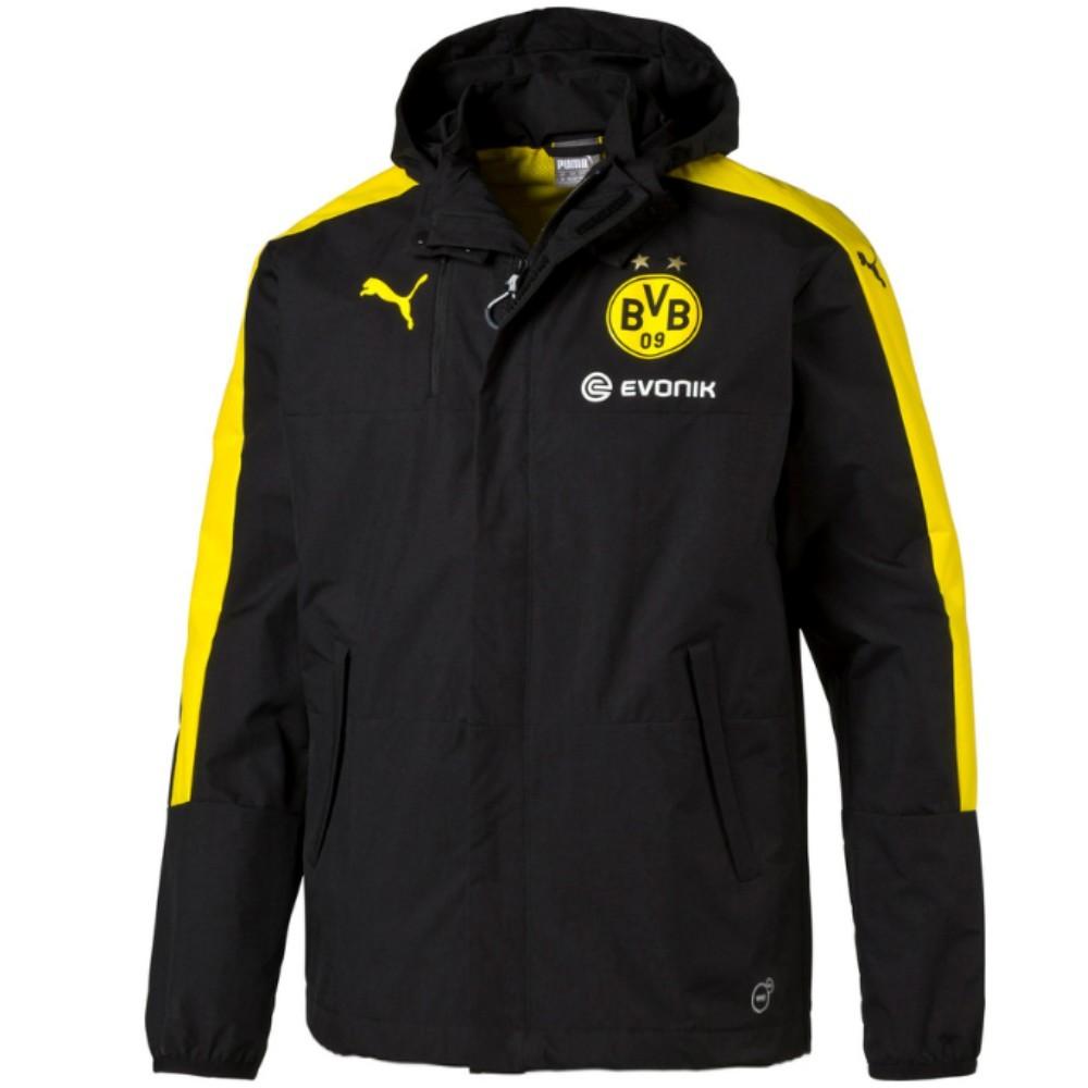 Bvb Borussia Dortmund Training Rain Jacket 2016 17 Puma Sportingplus Net
