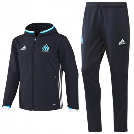 Olympique Marseille presentation tracksuit 2016/17 navy - Adidas