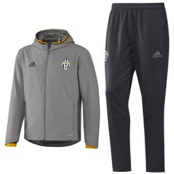 Tuta da rappresentanza grigia Juventus 2016/17 - Adidas