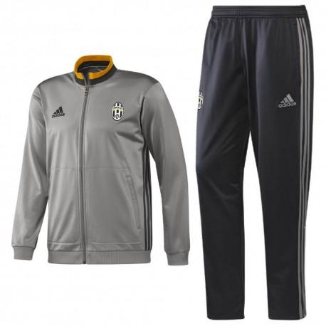 Adidas 201617 Juventus Survetement Gris D'entrainement k0nwOP