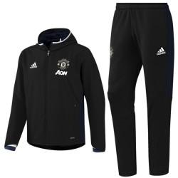 Tuta da rappresentanza nera Manchester United 2016/17 - Adidas