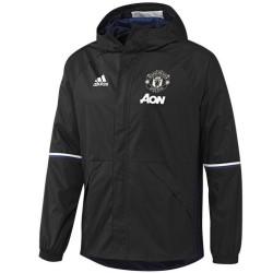 Giacca a vento da allenamento Manchester United 2016/17 nera - Adidas