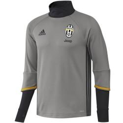 Tech sweat top d'entrainement Juventus 2016/17 gris - Adidas