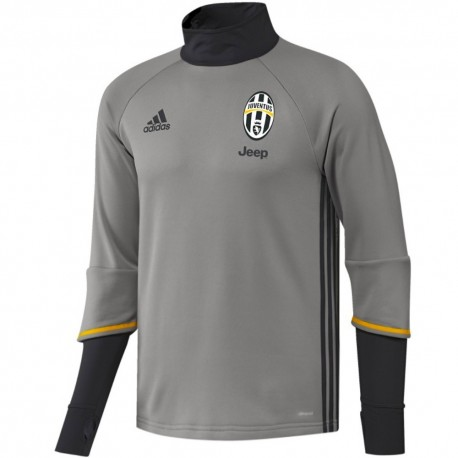 Juventus training technical sweat top 2016/17 grey - Adidas