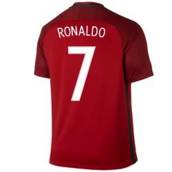 Maglia da calcio nazionale Portogallo Home 2016/17 Ronaldo 7 - Nike