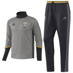 Chandal tecnico entreno Juventus 2016/17 gris - Adidas