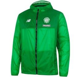 Giacca a vento allenamento verde Celtic Glasgow 2016/17 - New Balance
