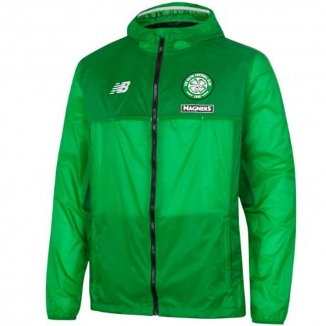 Celtic Glasgow training rain jacket 2016/17 green - New Balance