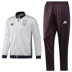 Ajax Amsterdam survetement d'entrainement 2016/17 blanc - Adidas