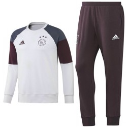 Ajax Amsterdam training sweat set 2016/17 weiss - Adidas