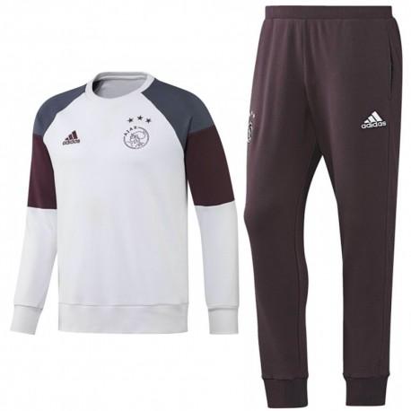 Ajax Amsterdam training sweat set 2016/17 white - Adidas