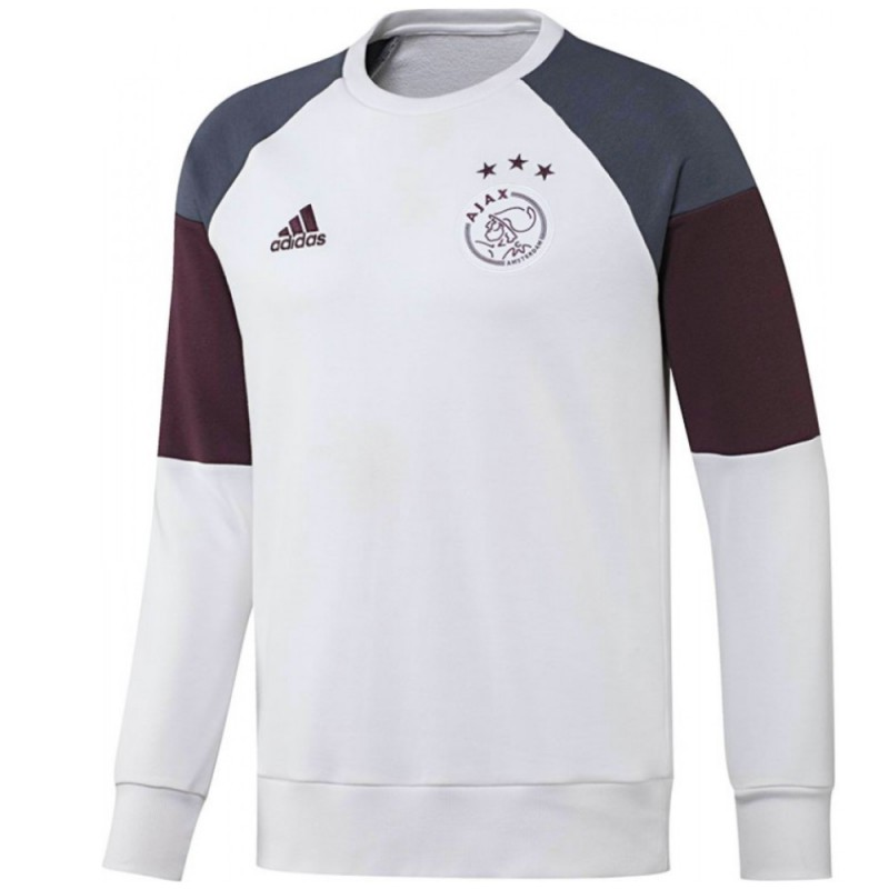 Ajax Amsterdam training sweat set 201617 white Adidas