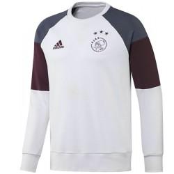 Ajax Amsterdam training sweat top 2016/17 white - Adidas