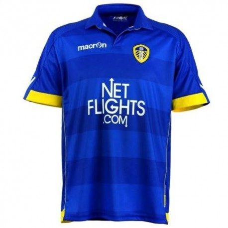 Leeds United Away football shirt 10/12-Macron
