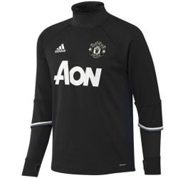 Felpa tecnica nera Manchester United 2016/17 - Adidas