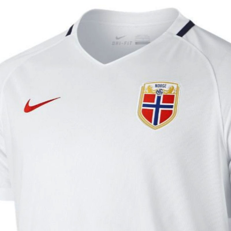 new arrival fdf22 0a613 Norway national team Away football shirt 2016/17 - Nike ...