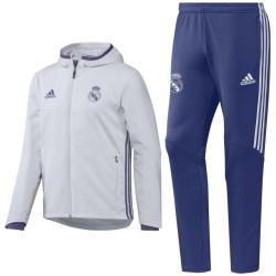 Survetement de presentation Real Madrid 2016/17 blanc - Adidas
