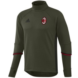 Sweat tech top d'entrainement AC Milan 2016/17 - Adidas