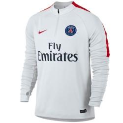 Felpa tecnica allenamento bianca Paris Saint Germain 2016/17 - Nike