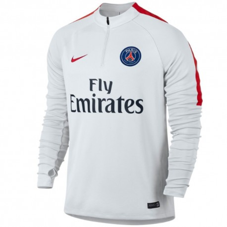 PSG white training technical sweat top 2016/17 - Nike