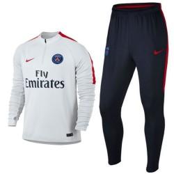Tuta tecnica allenamento bianca Paris Saint Germain 2016/17 - Nike
